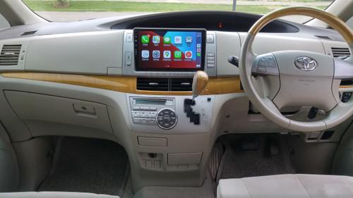 "EXTNIX Apple Carplay Android Auto Toyota Tarago Estima ACR50R GSR50R 10.1"" Touch Screen Infotainment System 2006 to 2015 Silver"