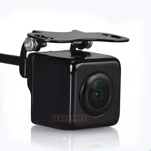 EXTNIX - New Universal Zinc alloy 175 degree view angle 720p reverse rear view back up cameras 4 Pin Mini Connector for Easy Installation