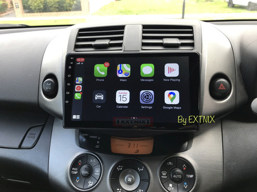 EXTNIX  Apple CarPlay Toyota Rav4 Android Auto Multimedia Infotainment System