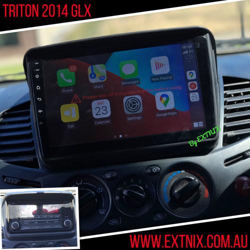 EXTNIX Premium Mitsubishi Triton ML MN Apple Carplay Android Auto Infotainment System