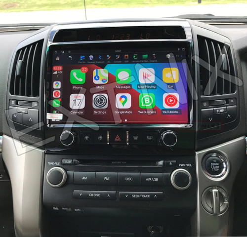 EXTNIX Wireless CarPlay Toyota Landcruiser Sahara 200 Series 2007 to 2015 LC200 Infotainment System