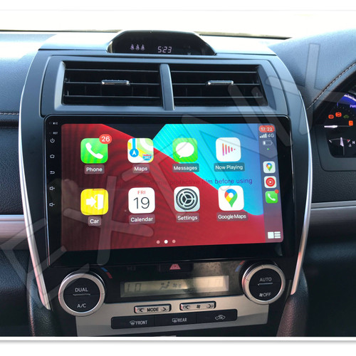 EXTNIX Premium Wireless Carplay Toyota Camry 2012 - 2017 Infotainment System Hybrid