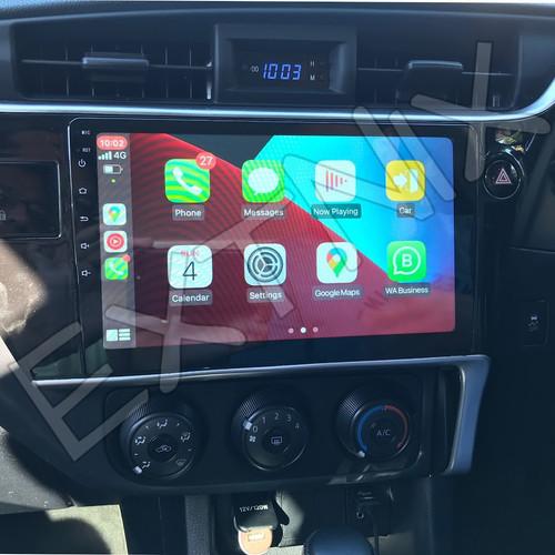 EXTNIX Premium Wireless Apple CarPlay Toyota Corolla Sedan 2017-19 Android Auto Infotainment System