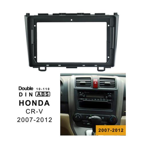 EXTNIX HONDA CR-V 2007 - 2011 Car Radio In-Dash Mounting Frame Radio Installation Fascia for 9 inch Screen Car Stereo