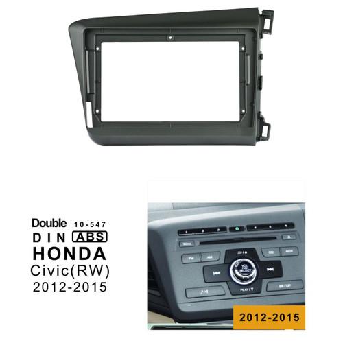 EXTNIX HONDA CIVIC (RW) 2012-2015 Car Radio In-Dash Mounting Frame Radio Installation Fascia for 9 inch Screen Car Stereo