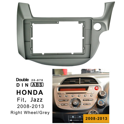 EXTNIX Honda Fit Jazz (RW) 2008-2013 car head unit Radio Installation fascia Facia for 10.1 inch car stereo Radio