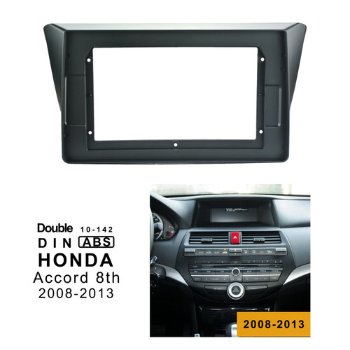 EXTNIX Honda Accord 8th 2008 -2013 Fascia Audio Fitting Adaptor Facia Panel Frame Kits For 10.1 Android