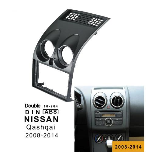 EXTNIX NISSAN Qashqai Dualis 2007-2013 for 9 inch Android Fascia Frame Dashboard Install Panel Dash Mount Installation
