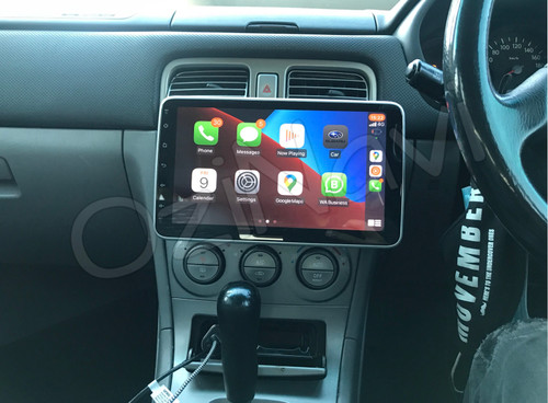 """EXTNIX Universal 10"""" Rotatable Touch Screen Apple CarPlay Android Auto Infotainment System"""