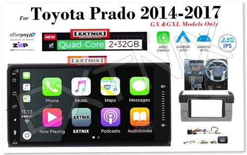 "EXTNIX Toyota Prado 2014-2017 GX GXL 7"" Apple CarPlay Android Auto Infotainment System"