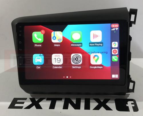Extnix Honda Civic 2012-2015 Sedan Carplay Android 10 Multimedia Infotainment System
