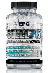 EPG STEEL 75 Testosterone Boost (Buy 1 Get 1 FREE)