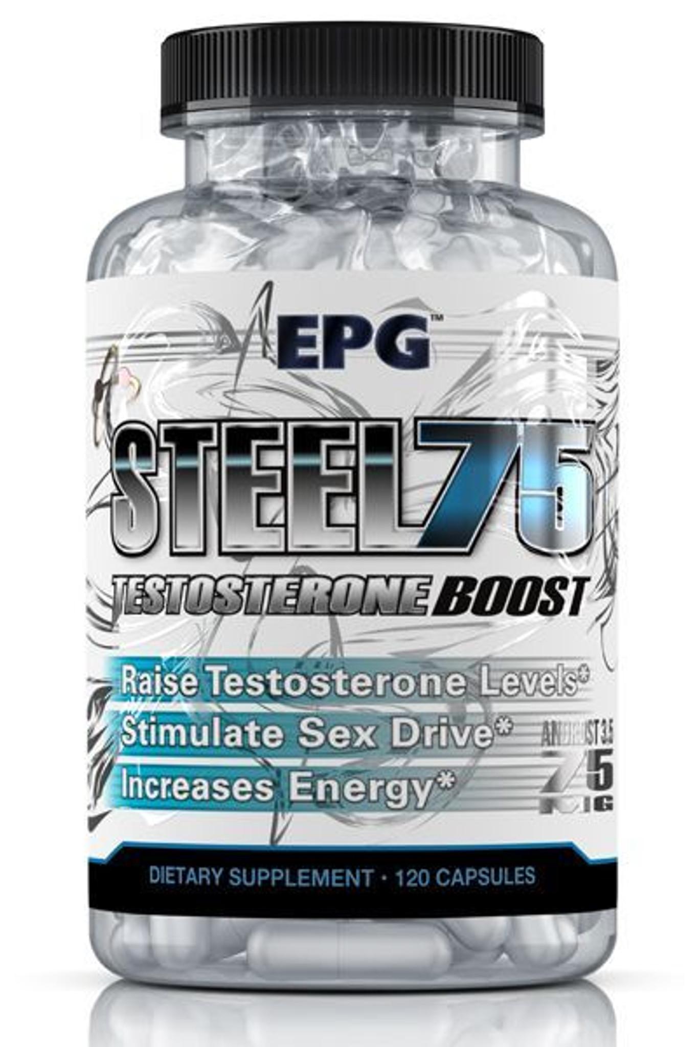 EPG STEEL 75 Testosterone Boost (Buy 1 Get 1 FREE)