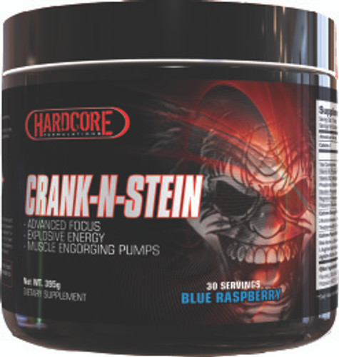 Hardcore Formulations CRANK-N-STEIN Pre-Workout