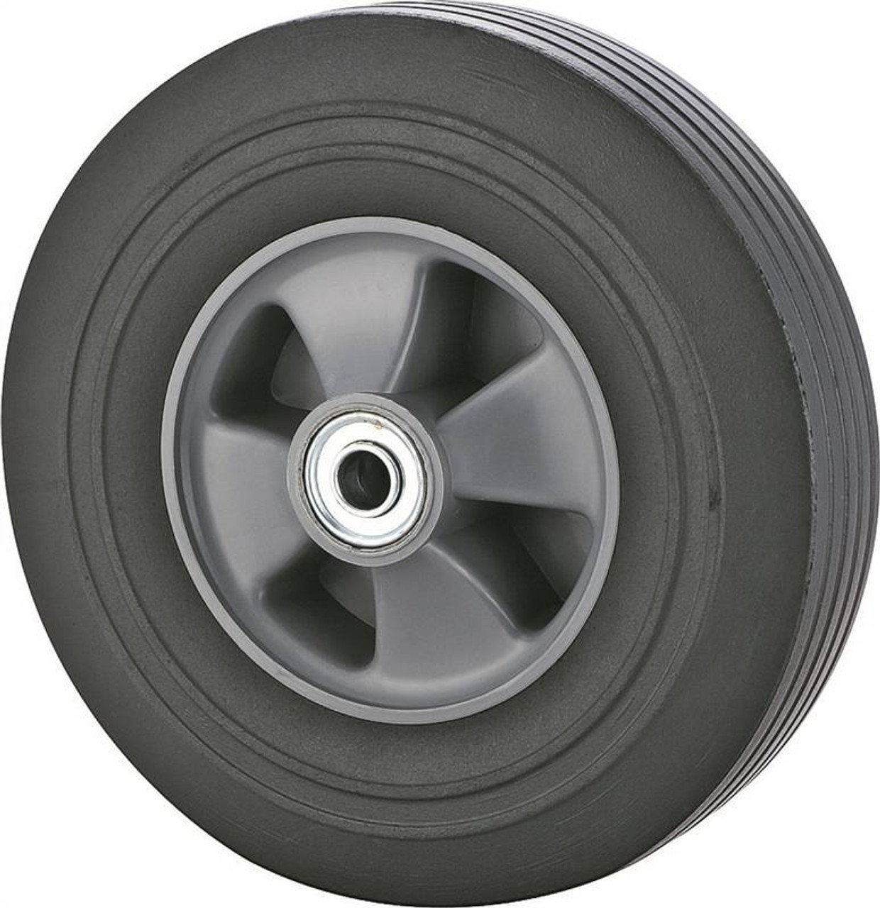 ProSource Hand Truck Tire, For Use With 001.1908 Hand Truck, Plastic Rim, Solid Rubber