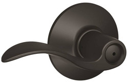 Lever Privacy Accent Matte Blk