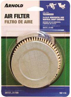 Air Filters Tec No30727 4-6 Hp