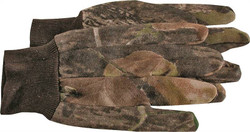 Boss 4200MOL Protective Gloves, Large, Polyester Jersey, Mossy Oak Break Up Camouflage