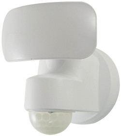 PowerZone Battery Operated Motion Security Light Led Lamp, 500 Lumens