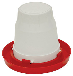 Brower 1GFB Fount Base, For Use With 1 gal Fount Slip-On Jar, 11 in Diameter X 1-3/8 in Depth