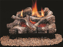 Log Gas Nat Vent Free 24in