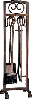 Simple Spaces Fireplace Tool Set, 5 Pieces, 32-1/2 In H