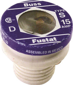 Fuse Plug S Dly Reject Bs 15a - 7900046