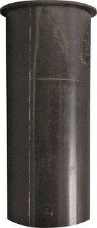 Plumb Pak PP10-8B Sink Tailpiece, 1-1/2 in Dia X 8 in L, Flanged, PVC, Black