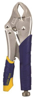 IRWIN VISE-GRIP Fast Release 11T Locking Plier, 1-7/8 in Jaw Opening, Curved, Nickel Jaw, Ergonomic Handle