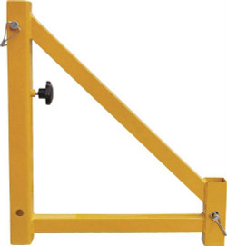 """Yellow powder coated finish. Steel material. Casters not included. Dimensions: 18"""" H x 15-5/8"""" W. For use with SKU# 879.5478."""