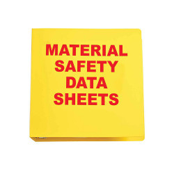 Material Safety Data Sheets Binder