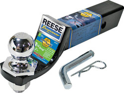 REESE Towpower 21543 Interlock Towing Starter Kit, Steel, Black/Chrome, Powder-Coated