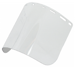 "Erb Safety Clear PetG Face Shield; Size 8"" x 15.5"" .040 thick"