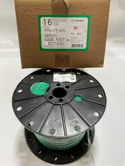 AlanWire 16AWG-TFN-TEWN-GREEN (2500 FT)