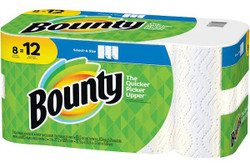 Bounty Select-A-Size 74728 Paper Towel, White, 83 Roll
