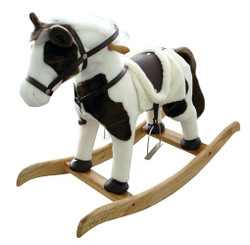 Santas Forest 28301 Rocking Horse Toy, 24 In