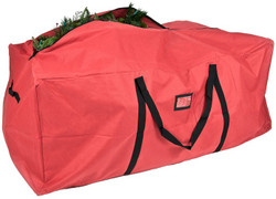 Treekeeper SB-10133 Tree Storage Bag, 59 in L, 27 in W, Polyester, Red