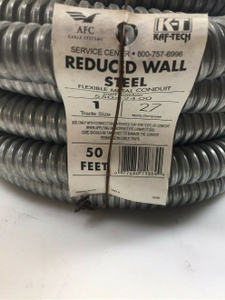 1 in. x 50 ft. Flexible Steel Conduit AFC Cable Systems 5504-24-00