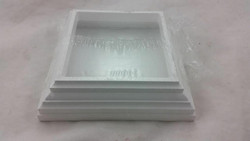 """4"""" New England Base-LB, White Fast Shipping!!!"""