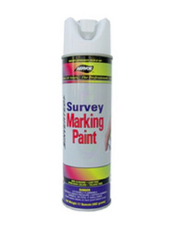 "Aervoe 207 White ""Solvent Based"" Inverted Marking Paint. 17 net wt. 20 oz can."