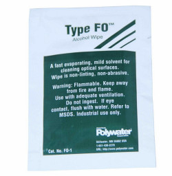 American Polywater FO1 Alcohol Prep Wipe Type Fo™ 99.8% Anhydrous