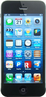 Apple iPhone 5 - 32GB - Black (Carrier Unknown)