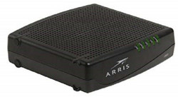 Arris CM820A Cable Modem With Power Cord DOCSIS 3.0 Touchstone