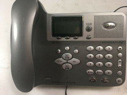 AT&T E2562 2.4 GHz DSS 2-Line Expandable Cordless Phone with Answering System
