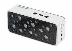 Bluetooth Wireless Portable Speaker with Power Bank and Mic Black Fast Shipping!