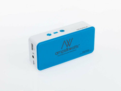 Bluetooth Wireless Portable Speaker with Power Bank and Mic Blue US Seller!