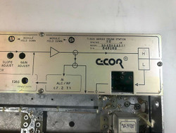 C-COR T-500 SERIES TRUNK STATION 504B01A1A1