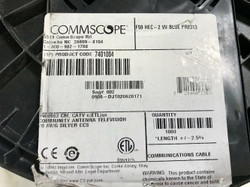 Commscope 1000 ft Cable F59HEC-2VV Blue Headend Cable