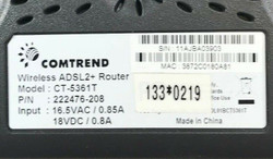 Comtrend CT-5361T Router Untested