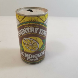 Country Time Lemonade Metal Can 12 OZ Antique Vintage Pull Tab Top